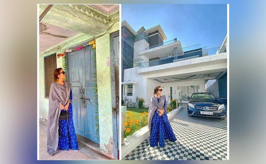 Neha Kakkar Shares Pics Comparing Her Old 1 Room House And Bungalow